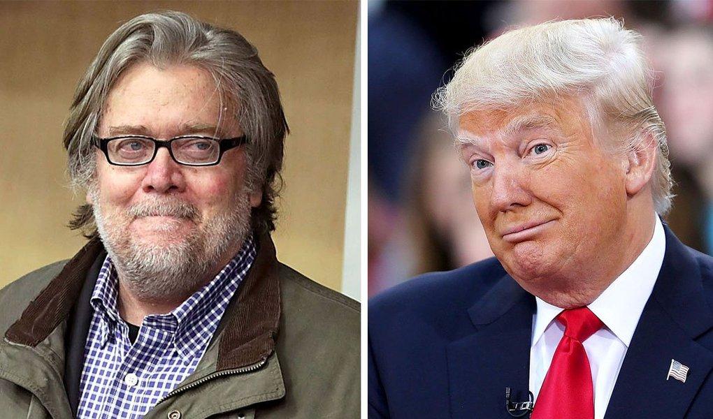 Estrategista-chefe de Trump, que se compara à encarnação do mal de Star Wars, tornou-se conhecido como chefe de site de extrema direita; muitos o consideram o manipulador oculto e condutor ideológico do presidente