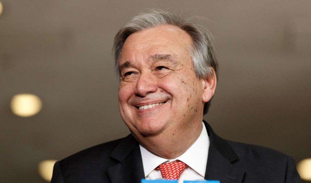 Foi com este apelo que o português António Guterres assumiu hoje (1º) o cargo de secretário-geral da Organização das Nações Unidas (ONU), posto até então ocupado pelo sul-coreano Ban Ki-moon