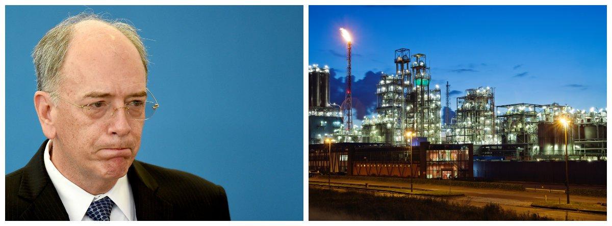 Presidente da Petrobras, Pedro Parente, e Petroquímica Suape .2