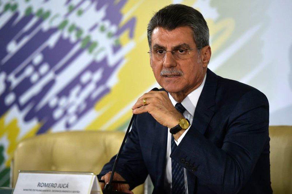 Brasília - O ministro do Planejamento Romero Jucá