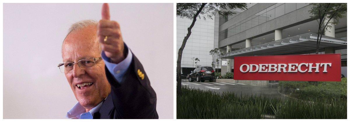 Presidente do Peru,Pedro Pablo Kuczynsk, diz que Odebrecht terá que vender projetos no país .2