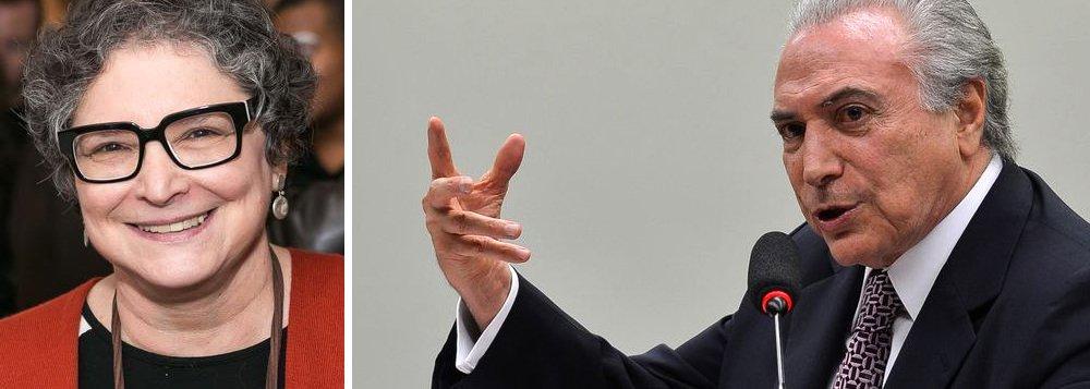 """Colunista Cora Rónai criticou a """"suposta habilidade política"""" do presidente Michel Temer neste domingo, 27; para ela, se Temer tivesse a mínima noção de quanto está """"abusando da tolerância dos brasileiros"""", teria demitido Geddel Vieira Lima assim que soube das denúncias de Marcelo Calero; """"Em vez disso, promoveu a palhaçada que foi o apoio da base parlamentar ao seu ministro, ato equivalente a uma cusparada na cara da população"""", afirmou; """"O caso Geddel não é uma coisa """"pequena"""" e """"pontual"""". É um escândalo, e é o retrato de tudo o que não suportamos mais ver na política: a corrupção, o compadrio, o uso da máquina do poder em proveito próprio e em detrimento da sociedade como um todo"""""""