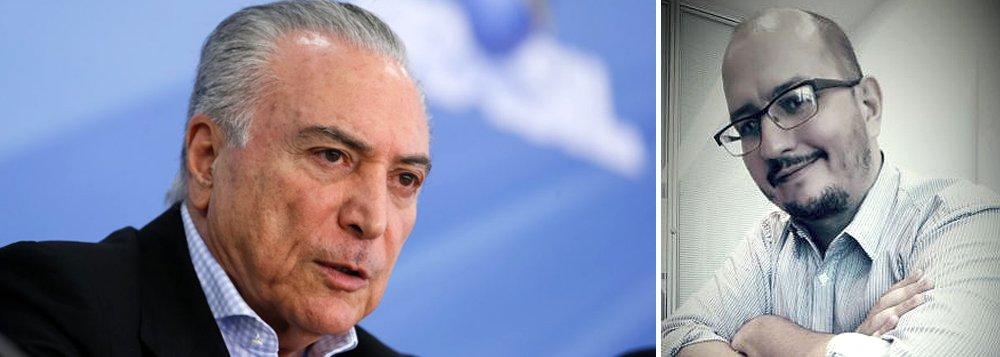 Consolida-se a percepção de que o impeachment da presidente Dilma Rousseff nada mais foi do que um golpe parlamentar, que teve a finalidade de blindar os mais de 200 políticos corruptos que serão atingidos pelas delações das empreiteiras