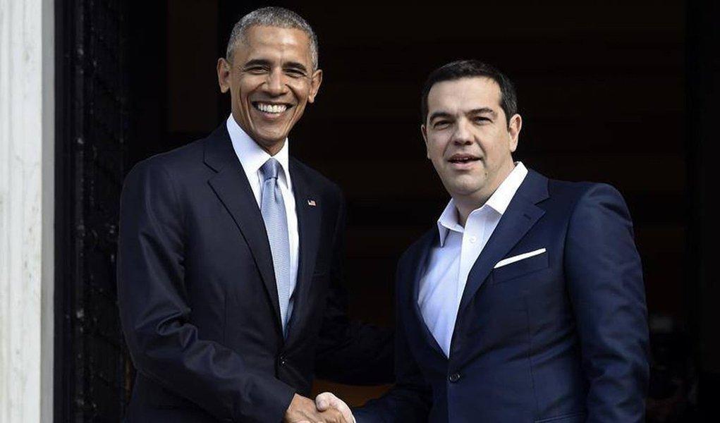 """Grécia não tem condições de suportar mais austeridade após sete anos de recessão e requer alívio da dívida """"substancial"""", disse nesta terça-feira, 15, o primeiro-ministro, Alexis Tsipras, após se reunir com o presidente dos Estados Unidos, Barack Obama;Atenas espera que Obama ajude a persuadir seus credores internacionais para reestruturar sua dívida, a maior da zona do euro"""