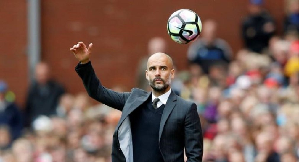 Britain Soccer Football - Stoke City v Manchester City - Premier League - bet365 Stadium - 20/8/16 Manchester City manager Pep Guardiola Action Images via Reuters / Carl Recine Livepic
