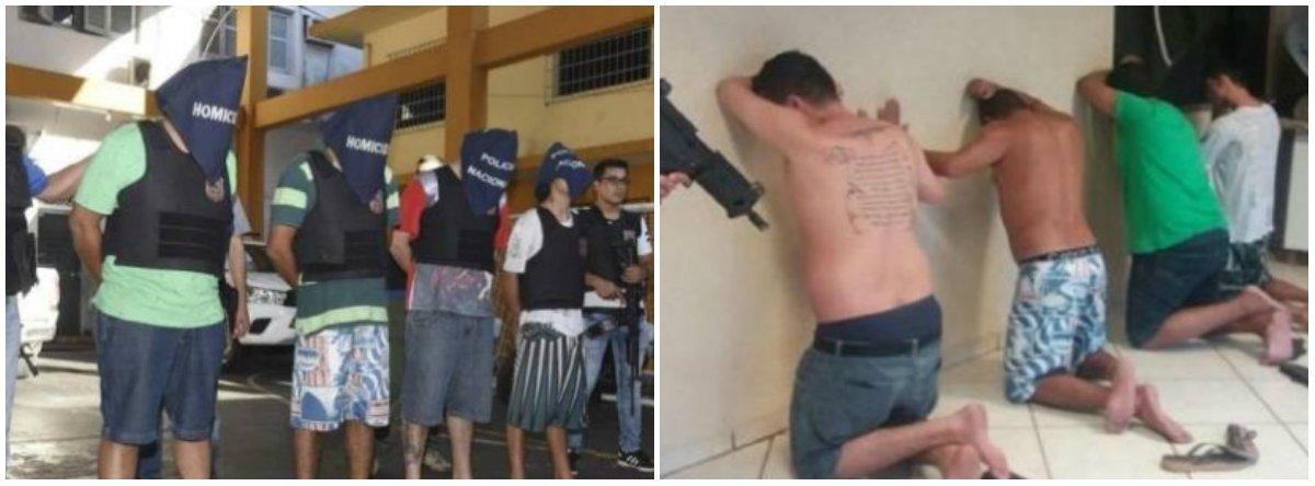 """Narcotraficantes rivais do RS migraram para o Paraguai com o objetivo de liderarem seus grupos, mas foram presos -Jackson Peixoto Rodrigues, um dos líderes da quadrilha 'Anti-Bala', eJosé Dalvani Nunes Rodrigues, o Minhoca, da 'Bala na Cara'; pesquisador da UFRGS,Francisco Amorim diz que o país vizinho virou uma base forte da facção paulista PCC; """"A estratégia dos Anti-Bala, neste momento, parece ser abrir redes de acordos informais com o PCC, que não tem uma ligação formal com os Bala na Cara, para enfraquecer a posição do inimigo. É uma guerra particular de traficantes locais que pode migrar para um conflito de outras proporções"""""""