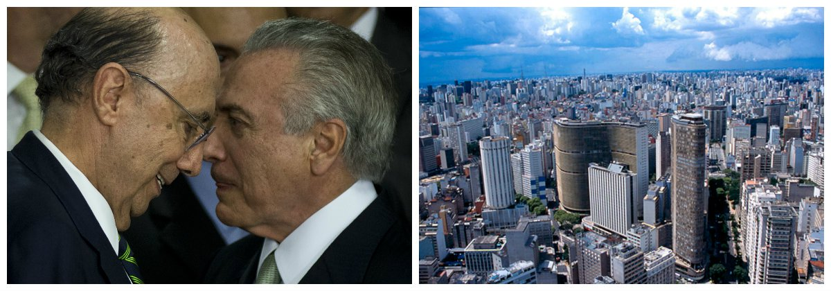 Ministro da Fazenda, Henrique Meirelles, e Michel Temer, imóveis .2