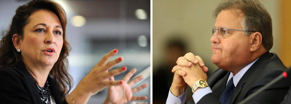 """Senadora Kátia Abreu (PMDB-TO) disse que a queda de Geddel Vieira Lima da Secretaria de Governo de Michel Temer, em meio ao escândalo denunciado pelo ex-ministro da Cultura Marcelo Calero, não encerra o caso; """"Cabe uma investigação profunda"""", afirmou a senadora pelo Twitter; senadora foi irônica com o colega de partido; """"E o processo contra mim na comissão de ética do PMDB pedindo minha expulsão foi aberto pelo ex Min Geddel. Quanta ironia do destino. No passado castigo vinha a cavalo mas hoje vem por E mail. O céu está todo informatizado"""", afirmou"""