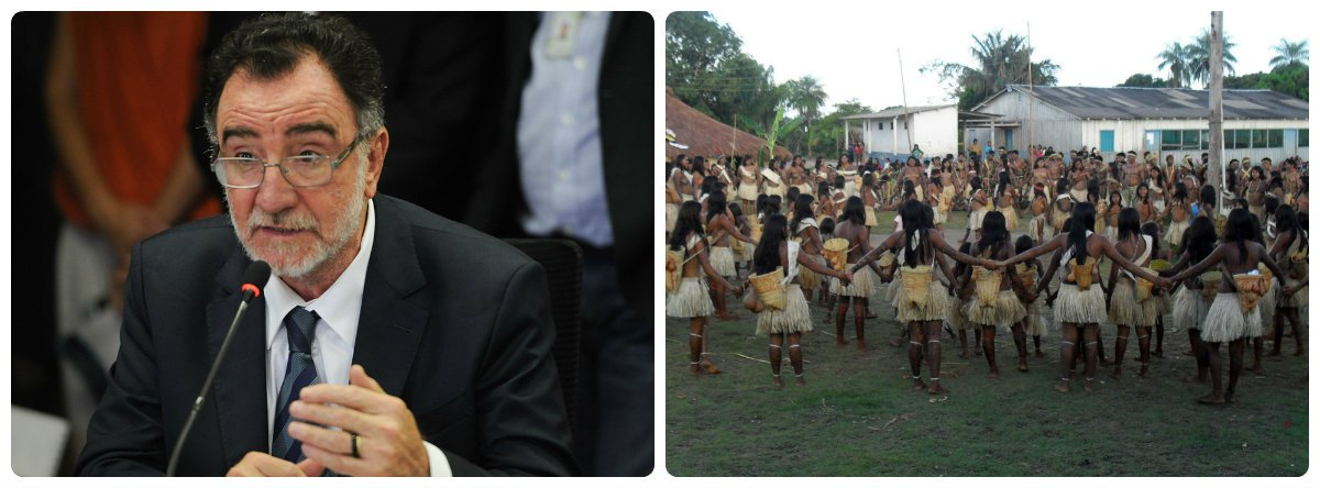 Patrus Ananias (PT-MG) denuncia agressões contra povos indígenas