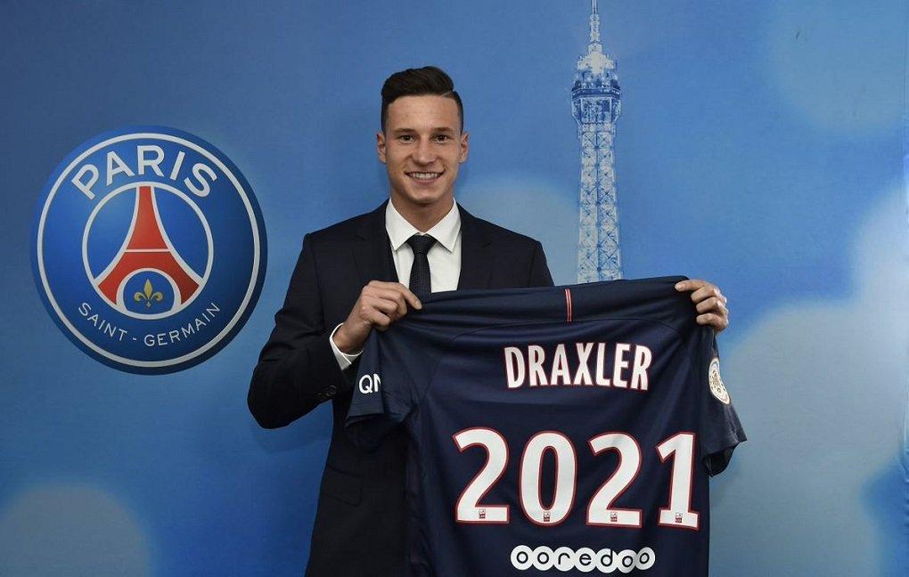 Jogador do Wolfsburg foi contratado pelo Paris Saint Germain e assinou contrato de quatro anos e meio, informou o time atual campeão francês; jogador de 23 anos, que começou sua carreira profissional no Schalke 04 em 2011, fez parte da seleção alemã campeã da Copa do Mundo de 2014