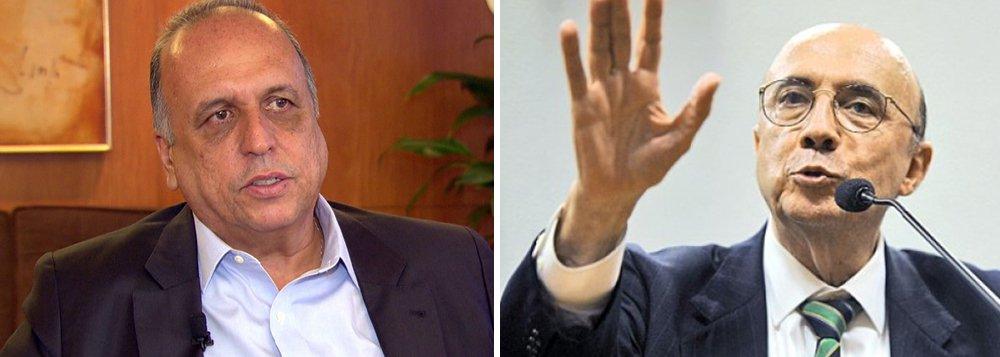 """Governador do Rio de Janeiro, Luiz Fernando Pezão (PMDB), disse nesta quarta-feira, 9, em Brasília, que o estado irá cassar a liminar concedida pela justiça que impede a aplicação de uma alíquota extra de contribuição previdenciária, a ser paga por funcionários públicos estaduais; """"Temos certeza de que vamos cassar a liminar. Não dá para o estado arcar com a aposentadoria de todos os poderes sem receber nenhum recurso"""", disse; governador está reunido com o ministro Henrique Meirelles, da Fazenda, para tratar da crise econômica que atinge o Rio de Janeiro"""