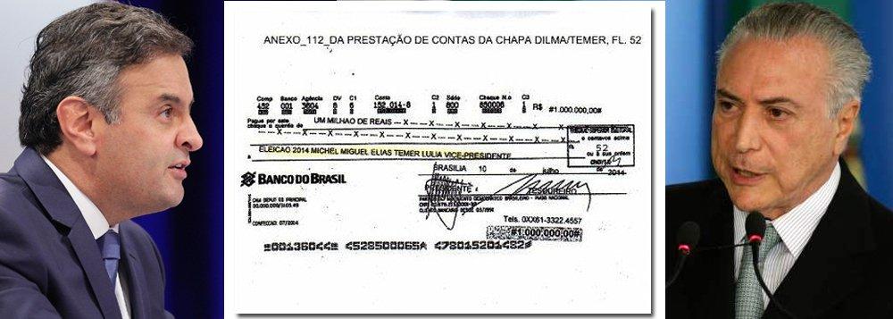 Por que um delator que doou 20 milhões para um candidato com qual teve um negócio de 1 bilhão foi lembrar de um cheque de 1 milhão que, segundo ele, havia sido dado a campanha de Dilma?