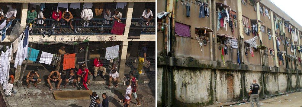 A guerra declarada entre as facções criminosas PCC (Primeiro Comando da Capital) e CV (Comando Vermelho) preocupa as autoridades em São Paulo e no Rio, berços desses grupos, respectivamente; a atenção sobre os líderes dentro das cadeias foi redobrada, para evitar represálias pelo País; aguerra entre o PCC e o CV se intensificou em junho, depois do assassinato do narcotraficante Jorge Rafaat Toumani, de 56 anos, atribuído a integrantes do PCC