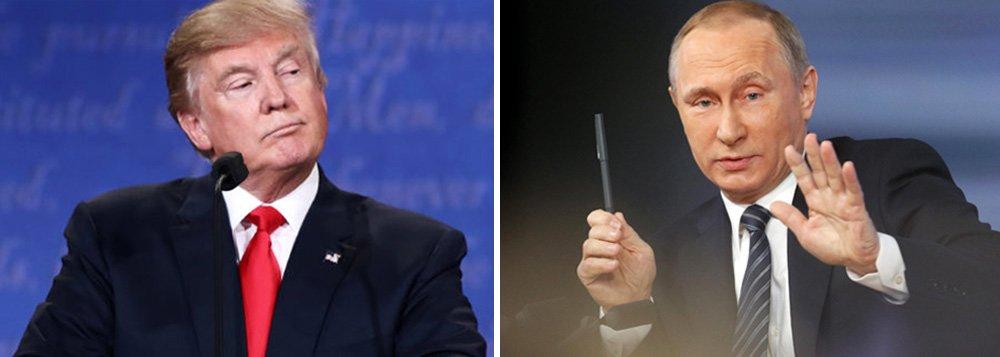 Presidente da Rússia, Vladimir Putin, e o presidente eleito dos Estados Unidos, Donald Trump, não vão se encontrar antes que Trump assuma o cargo em 20 de janeiro de 2017, disse o Kremlin nesta terça-feira; Trump havia anteriormente falado que queria encontrar Putin, possivelmente antes de sua posse