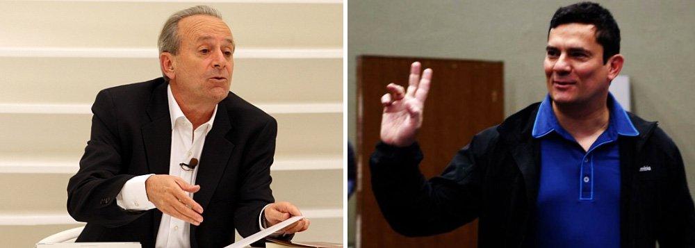 """Jornalista observa que, """"se antes faziam figura de paladinos silenciosos da Justiça, Sergio Moro e Deltan Dallagnol deram agora para falar""""; e a postura apolítica dos dois não é crível nem no artigo do procurador na Folha, menos ainda na entrevista do juiz no fim de semana, diz; """"Foi de um corporativismo que mal coube na palavra 'muito'"""", opina, sobre a entrevista de Moro; para Conti, o magistrado """"acha que lidera uma santa cruzada"""""""