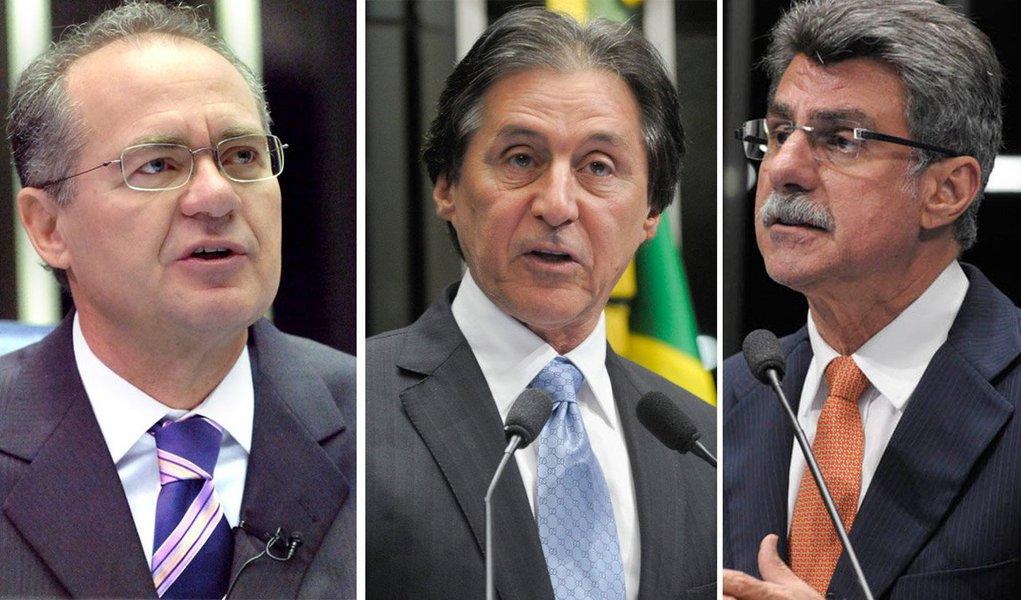 Em seu Twitter, o senador Romero Jucá (PMDB-RR) rebateu as especulações da mídia de que poderia disputar a presidência do Senado e disse que o nome de Eunício Oliveira (PMDB-CE) é consenso para a disputa pela sucessão de Renan Calheiros (PMDB-AL)