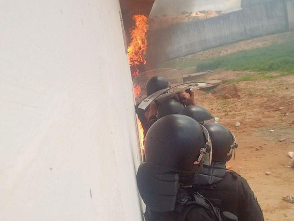 Rebelião em Alcaçuz (RN)