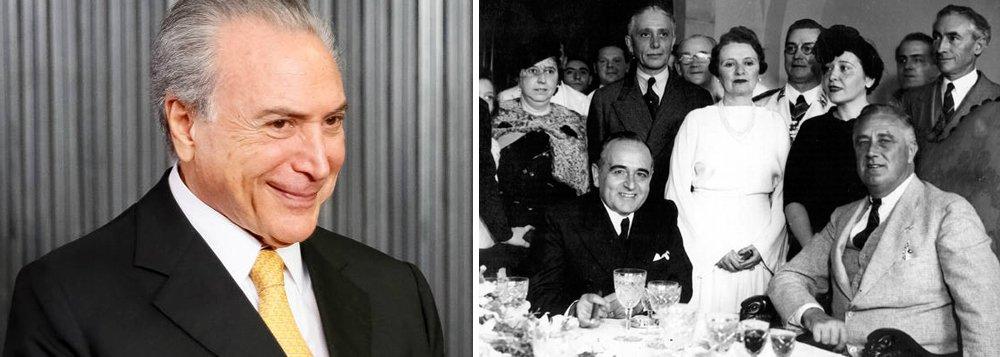 """Senador Roberto Requião (PMDB-PR) disse que o que se assiste hoje no Brasil é a construção do """"estado mínimo""""; """"Estamos vendo a redução do Brasil a um produtor de commodities, ou seja, o celeiro do mundo onde o povo passa fome. E a destruição completa da nossa economia, com o fim da indústria"""", disse Requião em entrevista ao jornalista Mino Carta; ele lembra que em 1943, quando o presidente americano Franklin Delano Roosevelt esteve no Brasil, ele disse que o """"new deal"""", a série de programas para recuperar a economia americana, era uma criação dele e do presidente Getúlio Vargas; """"Getúlio com a CLT, salário mínimo, seguridade social, era o Brasil industrializado"""", afirmou; """"Então o que se combate hoje no Brasil é o news deal"""""""