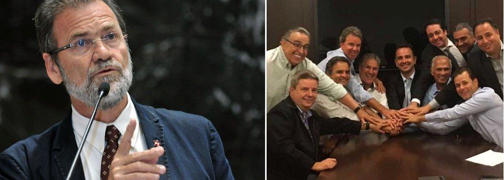 """O deputado estadual Durval Ângelo (PT) acusa o senador Aécio Neves (PSDB) - a quem chama de """"o inconformado homem dos Neves"""" -de articular a queda do governador Fernando Pimentel (PT) desde que atraiu o apoio do vice-governador do Estado, Antônio Andrade (PMDB), para apoiar João Leite (PSDB) na disputa pela prefeitura de BH; como essa estratégia não funcionou, agora tenta uma armação, junto com a oposição na Assembleia Legislativa, defendendo que o parlamento não precisa ser consultado sobre abertura de processo contra governador"""