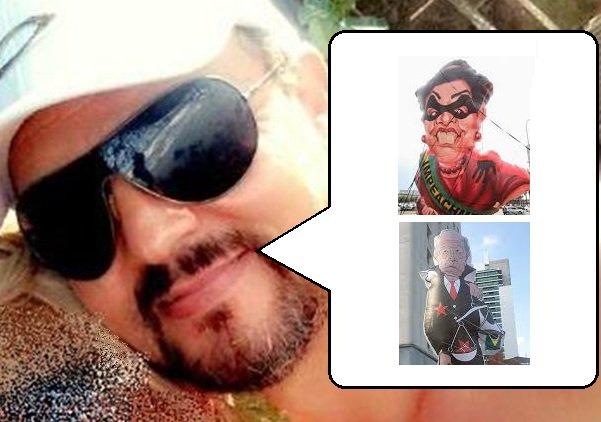 """O homem também criticou o ministro do STF Ricardo Lewandowski, a quem chamou de """"lixo"""", e a ex-presidente Dilma Roussef, a quem chamou de """"vadia"""". A visão do assassino é a mesma divulgada na televisão e em redes sociais por grupos de extrema direita, pela bancada da bala, inclusive por parlamentares que tentam implantar e legalizar um clima de terror no país"""
