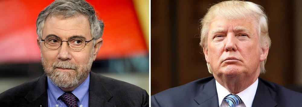 """Nobel de Economia Paul Krugman levanta em artigo publicado no New York Times uma série de questões que podem deixar marcas profundas, de acordo com o que foi sinalizado pelo republicano durante a campanha; primeiro a ganhar destaque é a mudança climática; """"Tínhamos acabado de alcançar um acordo global sobre emissões e uma política clara de mover os Estados Unidos para uma esperança maior sobre energia renovável. Agora, isto provavelmente vai se desfazer, e o dano pode muito bem ser irreversível"""", lamenta"""