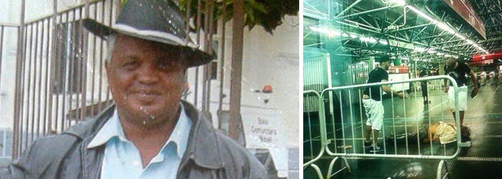 """O jornalista Paulo Nogueira, do DCM, escreve sobre a morte do ambulante espancado por defender um homossexual no Metrô de São Paulo; """"Luiz Carlos Ruas. Viveu invisível, como milhões de brasileiros que são, como ele, ambulantes. Virou notícia na morte, aos 54 anos, na noite de Natal, no metrô de São Paulo. Eu ia dizer que só então o enxergaram, mas eu estaria mentindo. Ele continuou invisível enquanto dois homens jovens o espancavam até a morte. Luiz Carlos Ruas agonizou invisível. Ninguém o socorreu. A morte invisível é banal num país em que pobres não valem nada"""", diz"""