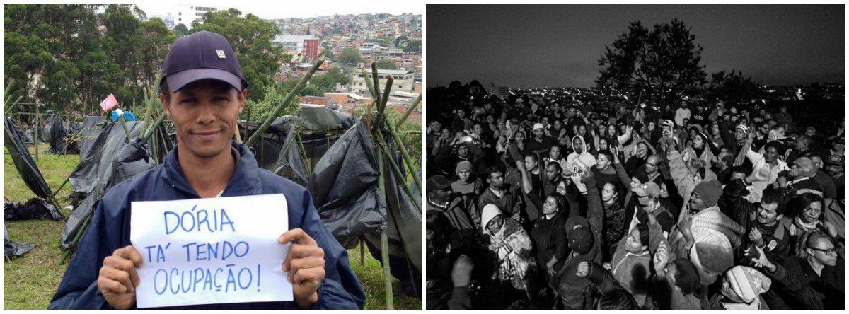 """Três ocupações simultâneas comandadas pelo Movimento dos Trabalhadores Sem Teto (MTST) ocorreram na madrugada deste sábado em São Paulo; segundo o MTST, as ocupações são resultado da falta de alternativa de moradia, especialmente para famílias que pagam aluguel, por conta do aumento do desemprego e da paralisação do programa Minha Casa, Minha Vida; """"Paralisar programas habitacionais e não dialogar com os movimentos só agravará a crise urbana e os conflitos sociais"""", afirma o movimento"""