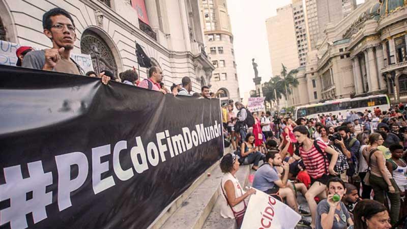 """Essa matança possui responsáveis. Boa parte dos legisladores atuais da chamada """"PEC da morte"""" não pode se eximir da pecha de serem os atuais Herodes do povo brasileiro"""