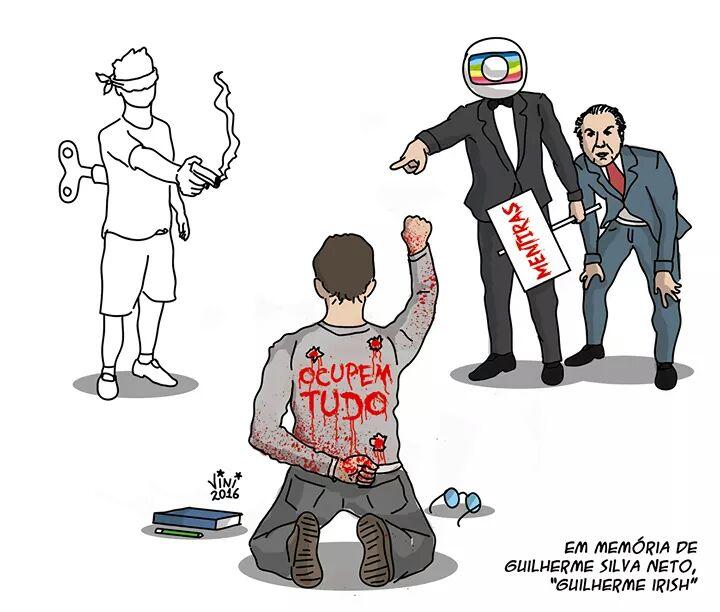 Que não sejamos capazes de fingir que nos últimos dois anos, tempo em que a sociedade brasileira se desumanizou absurdamente, não imaginamos que cedo ou tarde alguém morreria tão estupidamente por ódio ideológico