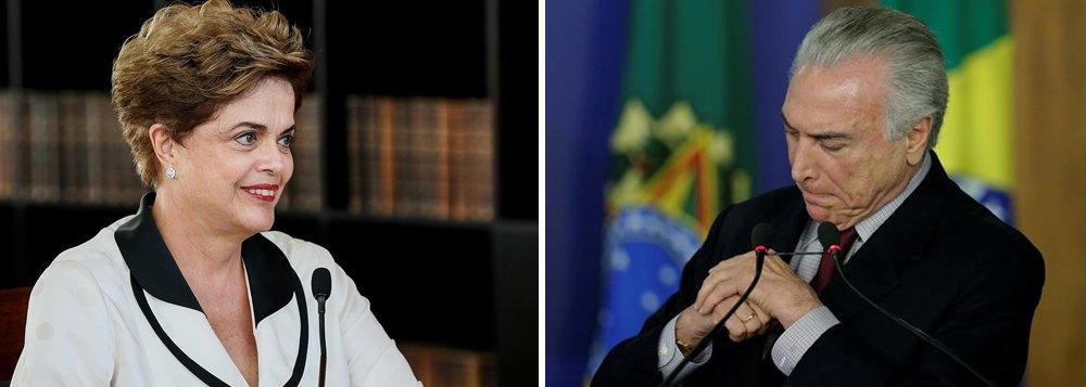 """Em entrevista à revista digital Calle2, Dilma Rousseff diz que eleições indiretas no Brasil seriam um """"aprofundamento do golpe"""";""""São três alternativas que a atual conjuntura apresenta. Uma é eleição direta, outra é eleição indireta e a terceira é o Temer continuar sendo o fantoche que ele é. Botar uma eleição indireta hoje aqui não significa dar um golpe no golpe, mas aprofundar o golpe"""", afirma; segundo ela, quem comanda o fantoche são """"as lideranças do PSDB em acordo com parte do PMDB, com a mídia oligopolista e com segmentos empresariais. É esse pessoal. O Temer é uma fachada""""; Dilma também analisa momento da América Latina, crise política e medidas do atual governo"""