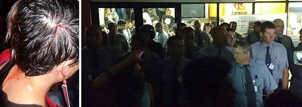 Estudantes da Faculdade de Comunicação da Pontifícia Universidade Católica do Rio Grande do Sul (PUCRS) e seguranças da instituição entraram em confrontodurante tentativa de ocupação do local; uma aluna foi ferida na cabeça por um dos guardas; estudantes protestam contra os ajustes propostos na PEC 55 do governo Michel Temer (PMDB), além de aumento de mensalidade, ameaças de cortes no ProUni e problemas com repasses do FIES (Fundo de Financiamento Estudantil)