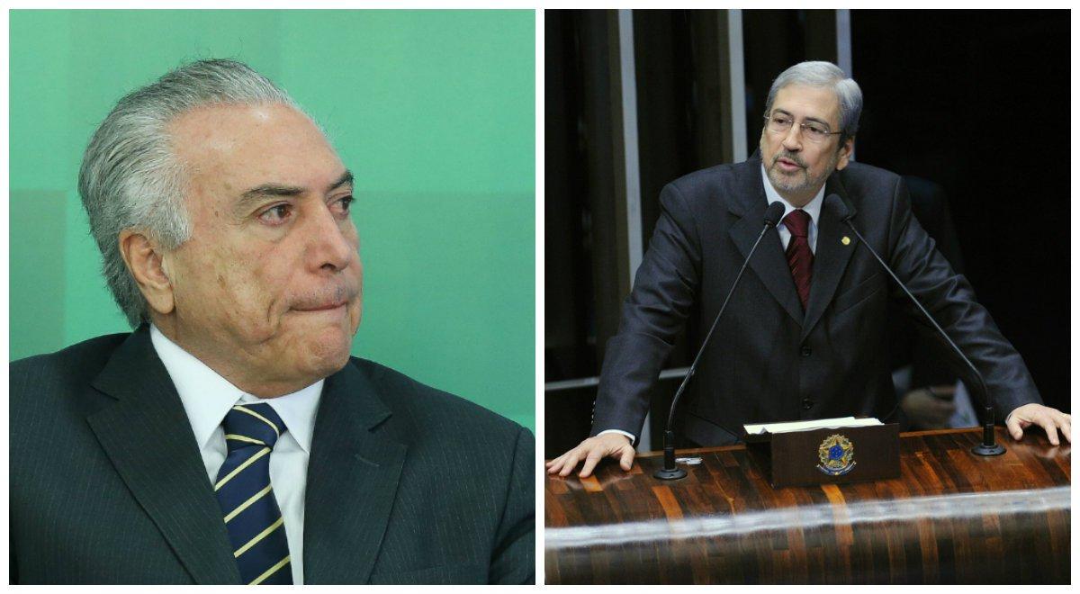 Michel Temer e Antonio Imbassahy.2