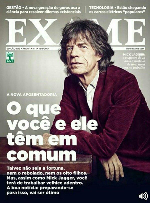 Nem todo mundo é feliz como o Mick Jagger que pode ganhar dinheiro enquanto produz endorfina e felicidade. O Rolling Stone foi usado de má-fé, para convencer o brasileiro médio, que pouco entende disso tudo, que ele será feliz trabalhando por mais tempo