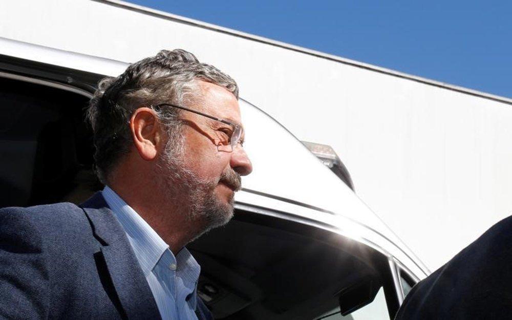 Antonio Palocci, ex-ministro da Fazenda e da Casa Civil em governos recentes do Partido dos Trabalhadores, chega a Curitiba 26/09/2016 REUTERS/Rodolfo Buhrer