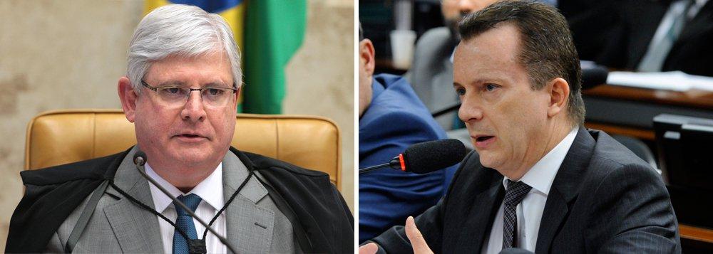 Procurador-geral da República, Rodrigo Janot, enviou parecer favorável à condenação do deputado Celso Russomanno (PRB-SP) pelo crime de peculato e pediu que a ação seja colocado de forma urgente na pauta de julgamento doSupremo Tribunal Federal; condenação o deixaria fora da disputa à Prefeitura de São Paulo