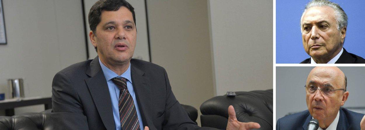 """O senador Ricardo Ferraço, do PSDB do Espírito Santo, que votou pela admissibilidade do impeachment da presidente Dilma Rousseff e que demonstrava certo otimismo com o governo interino de Michel Temer, dá sinais claros de sua insatisfação; para ele, a aprovação do projeto de reajuste do funcionalismo e a renegociação das dívidas estaduais,graças à mudanças na meta fiscal,representam a """"marcha da insensatez""""; """"Parece que a ficha não caiu. A situação é de colapso, mas estamos brincando de pique à beira do vulcão"""", afirmou; ele avalia que equipe econômica comandada por Henrique Meirelles resgatou a confiança, """"mas não tem salvo conduto, não recebeu cheque em branco"""""""