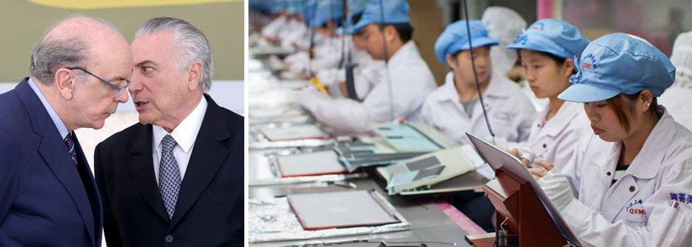 """Ministro das Relações Exteriores, José Serra, defendeu ontem a aproximação comercial brasileira com China, África e Irã e a menor tributação sobre as exportações; ele disse que criará uma área específica dentro da Agência Brasileira de Promoção de Exportações e Investimentos (Apex) para negociar com os chineses, a """"prioridade"""" do governo interino; Michel Temer já diz que o país será o destino de sua primeira viagem caso o impeachment se confirme"""
