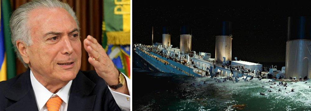 """""""Vamos sair da crise, alcançar o crescimento e o pleno emprego"""", disse Michel Temer, na noite de ontem; """"O Brasil tem capacidade de se reerguer"""", afirmou; no entanto, em seus sete meses de governo, a recessão se aprofundou e 2017 já está perdido"""