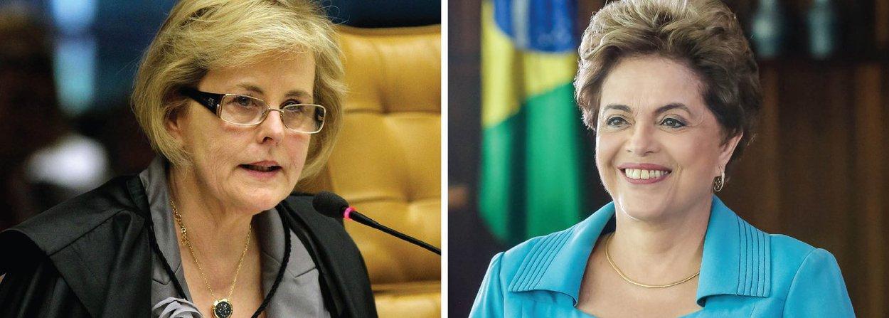 """Ministra do Supremo Tribunal Federal determinou o arquivamento da interpelação criminal aberta por ela contra a presidente eleita Dilma Rousseff por ela afirmar em discursos que o processo de impeachment é um """"golpe de estado""""; em resposta ao questionamento, o advogado José Eduardo Cardozo, que defende a presidente, afirmou que o processo de impeachment seria um golpe porque as condutas que são imputadas como crimes de responsabilidade não são atos ilícitos que atentam contra a Constituição; """"O nome que se dá a uma ruptura institucional e democrática como esta, na ciência política, é 'golpe de Estado'"""", afirmou"""