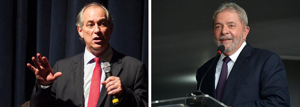"""""""Pensei: se a gente formar um grupo de juristas, a gente pode pegar o Lula e entregar numa embaixada. À luz de uma prisão arbitrária, um ato de solidariedade particular pode ir até esse limite. Proteger uma pessoa de uma ilegalidade é um direito"""", disse o ex-ministro Ciro Gomes; segundo ele, a ideia surgiu na época em que o ex-presidente foi conduzido coercitivamente pela Polícia Federal para depor em São Paulo"""