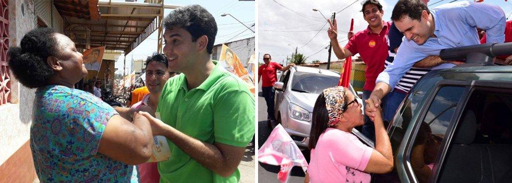 Depois de passar todo o primeiro turno nas últimas posições, pesquisa do Instituto Escutec mostra que o deputado Eduardo Braide (PMN) largou na frente no segundo turno com 44,27% das intenções de voto, quatro a mais que Edivaldo Holanda (PDT), que ficou com 40,09%; pesquisa foi contratada pelo jornal O Estado do Maranhão e está registrada no Tribunal Regional Eleitoral (TRE-MA) sob o protocolo MA-03647/2016; foram ouvidos 1.100 eleitores entre os dias 10 e 11 de outubro