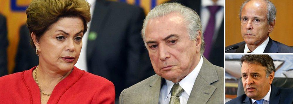 """Advogado da campanha de Dilma Rousseff, Flávio Caetano, assegura que as doações feitas pela empreiteira Andrade Gutierrez à petista em 2014 são legais, como confirmado pelo próprio empreiteiro Otávio Azevedo, ex-presidente da empresa, em depoimento à Justiça nesta semana; segundo ele, as """"doações feitas pela Andrade Gutierrez à campanha de Dilma-Temer tiveram origem legal e provieram do mesmo caixa financeiro das doações feitas à campanha de Aécio Neves"""", do PSDB"""