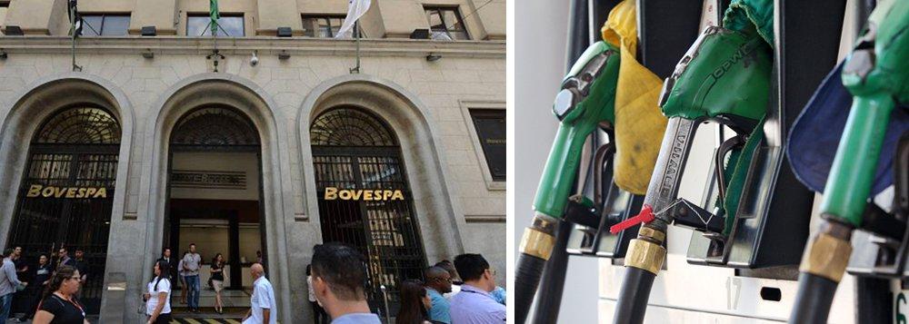 Tido antes como uma das grandes responsáveis pelo cenário de crise que a Petrobras (PETR3;PETR4) enfrenta, a política de preços dos combustíveis pela companhia não causou efeito negativo para os papéis na Bovespa nesta sexta-feira, ainda mais levando em conta que se tratou de uma redução dos preços. Pelo contrário