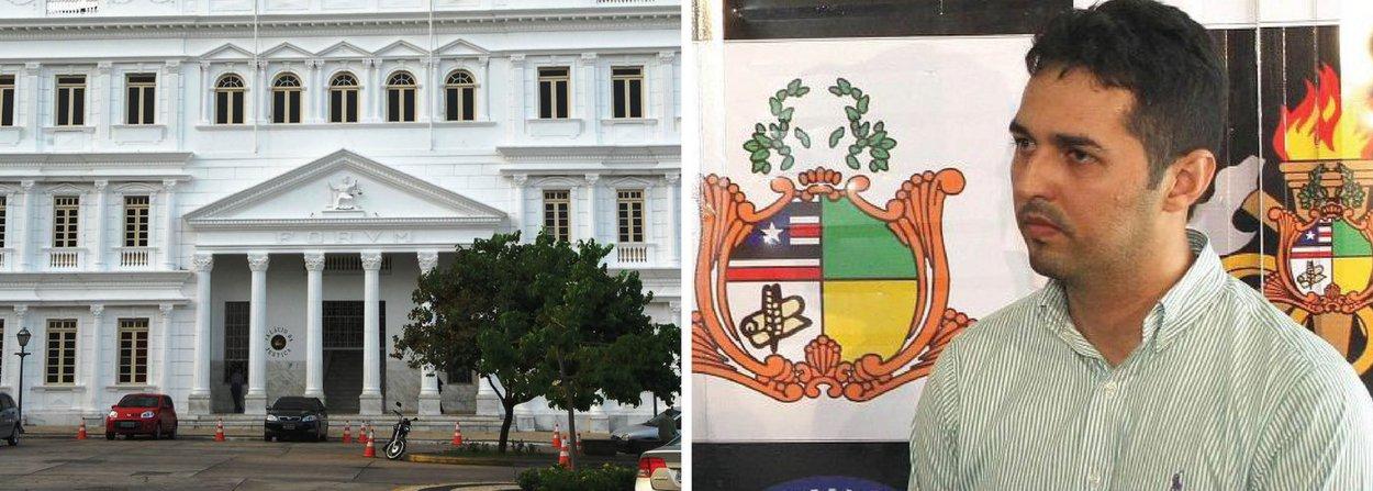 A Justiça do Maranhão manteve preso o empresário Gláucio Alencar Pontes Carvalho, acusado pela a prática de crimes de desvios de verbas públicas, formação de quadrilha e lavagem de dinheiro, no município de Bacabal, a 240 quilômetros (km) de São Luís; de acordo com a denúncia do Ministério Público (MP-MA), Gláucio Alencar teria recebido R$ 96 mil desviados da prefeitura da cidade, sendo indicado como membro ativo do esquema de desvio; odesembargador reforçou que o empresário também responde ação penal pelo crime de homicídio praticado contra o jornalista Décio Sá, cuja apuração iniciou a abertura de vários inquéritos com o objetivo de apurar o envolvimento de organização criminal