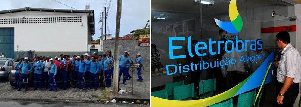 Leituristas que prestam serviço para a Eletrobras Distribuição Alagoas estão com as atividades paralisadas; categoria cobra reajuste salarial; devido ao movimento, a leitura nos medidores de energia está parada em Maceió e Região Metropolitana; as contas de energia também correm o risco de atrasar na residência dos usuários