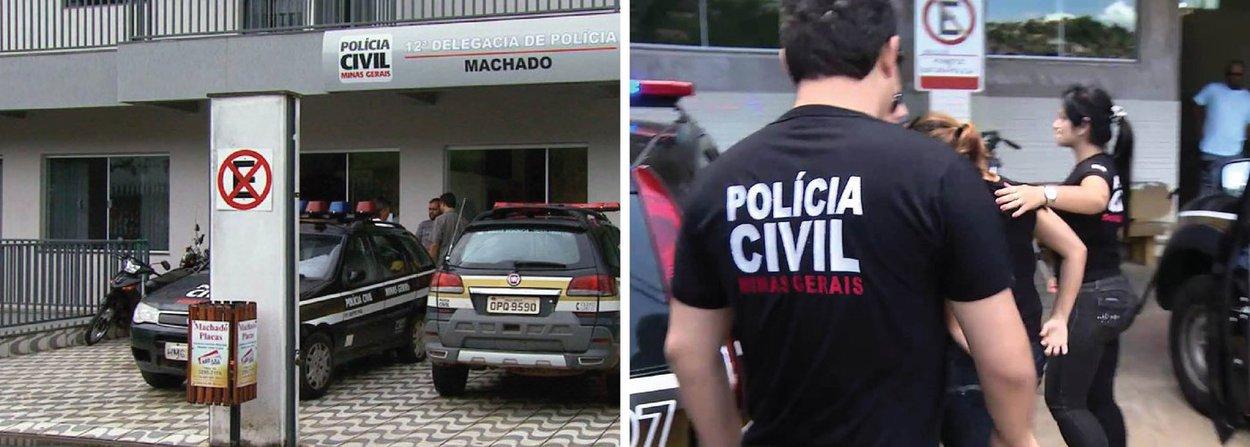 A Polícia Civil investiga uma denúncia de estupro coletivo sofrido por duas adolescentes de 15 anos, na cidade de Machado, no Sul de Minas; as adolescentes registraram queixa e afirmaram que, pelo menos, 20 homens participaram dos abusos; a maioria dos suspeitos é menor de idade; se ficar confirmado que as adolescentes foram abusadas sexualmente, os jovens pode responder por estupro de vulnerável, uma vez que as garotas estavam inconscientes no momento do crimes; a pena varia de oito a 15 anos de reclusão