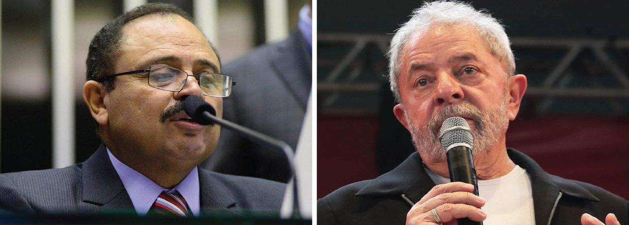 O presidente em exercício da Câmara dos Deputados, Waldir Maranhão (PP-MA), se reuniu nesta sexta (1º) com o ex-presidente Lula em São Paulo; o assunto discutido não foi divulgado; o encontro aconteceu no Instituto Lula e teria sido realizado a pedido de Maranhão