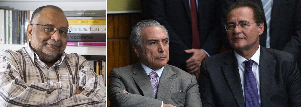 """Colunista Jorge Bastos Moreno, um dos mais próximos jornalistas do presidente interino Michel Temer, avisa neste sábado, 23, que se Temer resolver vetar a indicação dodeputado Marx Beltrão (PMDB-AL), réu no STF, para o Ministério do Turismo, apadrinhado do presidente do Senado, Renan Calheiros (PMDB), sofrerá retaliações; """"Se prevalecer, como parece, o veto a Beltrão, a quase um mês da votação do impeachment, Temer sabe que até lá vai viver em um verdadeiro inferno de ameaças e chantagens. É essa briga que o governo avalia se, a esta altura, vale ou não comprar"""", afirma"""
