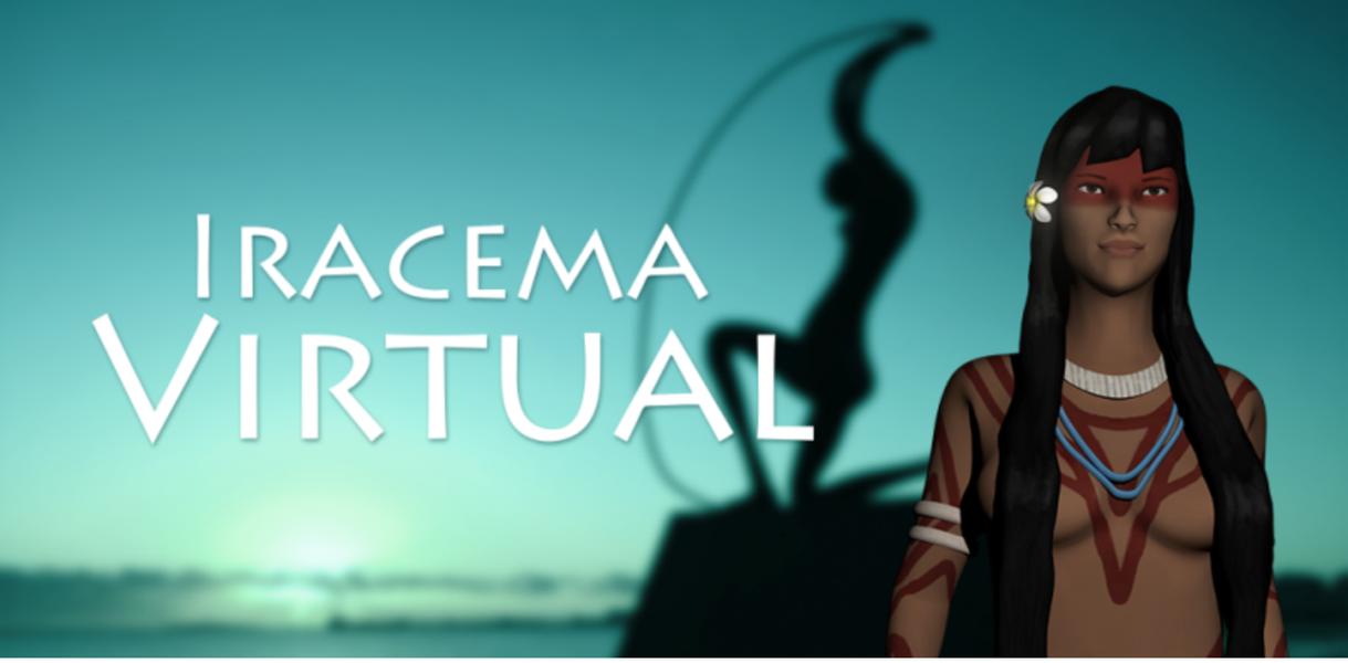 Uma projeção holográfica da famosa personagem de José de Alencar poderá ser vista em qualquer smartphone ou tablet através de um QR Code instalado na base da estátua do aterro da Praia de Iracema