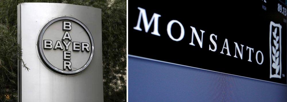 Companhia de produtos químicos e de saúde Bayer adquiriu a companhia de sementes norte-americana Monsanto por US$ 66 bilhões criando um novo líder global na agricultura